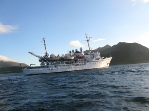 The NOAA Ship Rainier.  This has been my home for the past 12 days!
