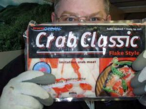 "Crab Classic contains ""Surimi Crab."""