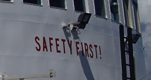 Safety is an important practice on the Oregon II.
