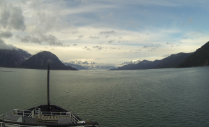 The Oscar Dyson near Hubbard Glacier