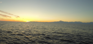 Sunset by Yakutat Bay