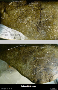 3paleolithic map