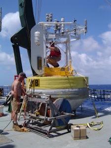 Buoy on deck