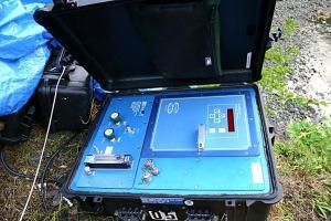 Tide gauge equipment