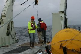 Collecting Sediment Trap Tubes
