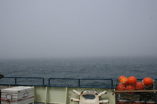 Fog on the Bering Sea