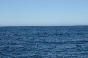 Clear and cold Bering Sea weather