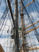 Masts of the ship