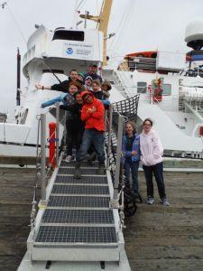 Future hydrographers head back to school.