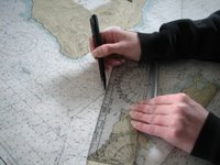 Ploting the bearing on a map