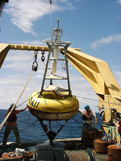 Recovering the buoy