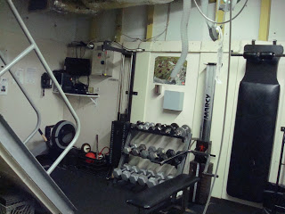 The onboard gym