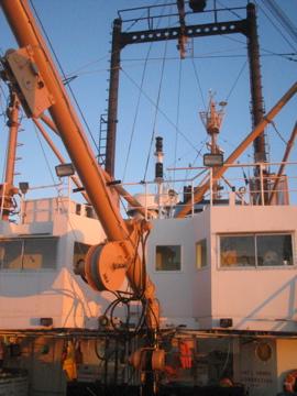 Mechanics on deck