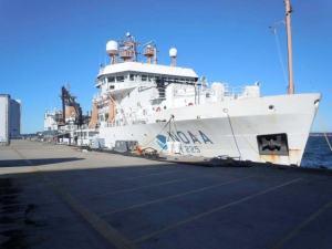 The Bigelow in port