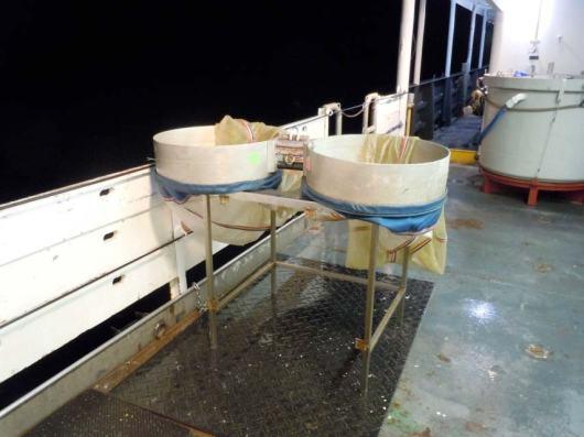 Paired trawl