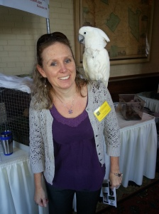 Me at the 2013 New Hampshire Science Teachers Association Annual Teacher's Conference.