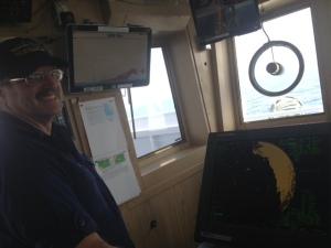 XO Haner explains how the radar functions