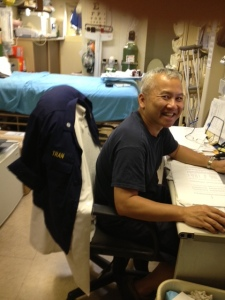 Dr. Tran is always smiling.