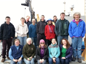 The Science Teams (Photo Credit to Mark Weekley)