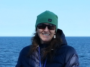 Jen Gatzke, Chief Scientist of AMAPPS Leg 2 aboard the NOAA Ship Gordon Gunter.