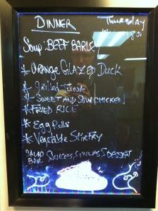 pic of menu
