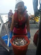 Bringing in a trawl