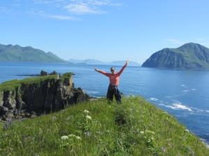 Dana Clark Cape Kaguyak, Alaska