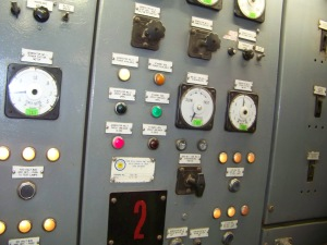Ship's electrical panel