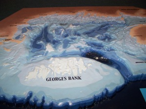 map of Georges Bank