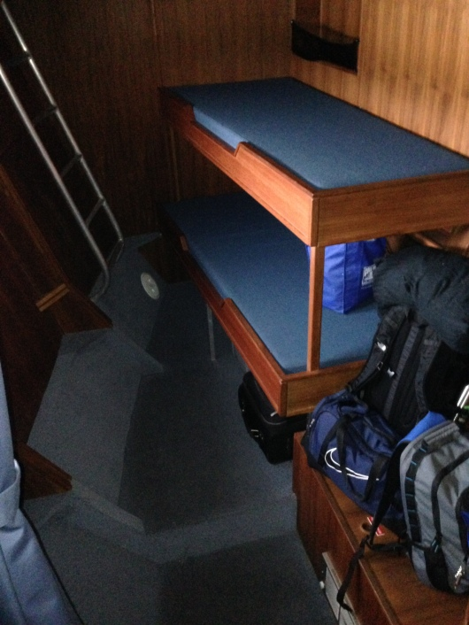 Bunk Beds on the R/V Fulmar