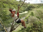 Zip lining in the Dominican Republic