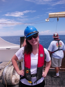 Brittany is a Fisheries Biologist on the Oregon II.