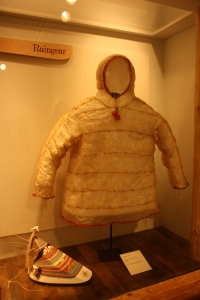 Exhibit at the Museum of the Aleutians