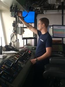 NOAA Corps Ensign Ben VanDine, Safety Officer