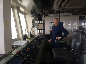 NOAA Corps LT Greg Schweitzer, Executive Officer or XO