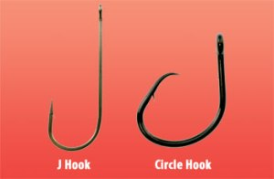 J hook vs. Circle hook