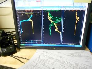 CTD Graphic Data Display