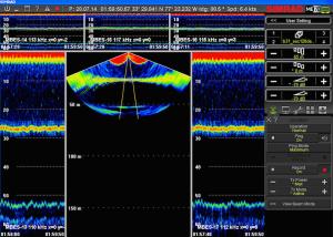 SIMRAD70 (multi-beam sonar)