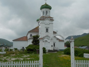 Russian Orthodox Church in Dutch Harbor, AK