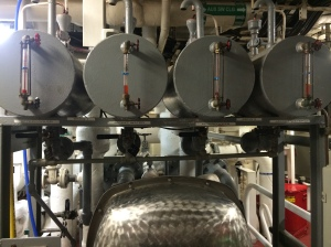 One of the evaporator machines