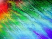 Color indicates depth, and helps predict coral habitats.