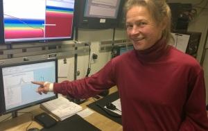 Chief Scientist Taina Honkalehto decides where to fish based on data.