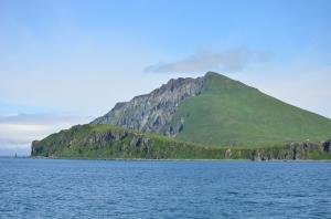 No man is an Island. Mt. Ballyhoo, Unalaska, AK