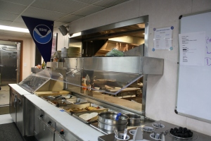 There are always multiple options for every meal. If you're hungry on this ship you must be the pickiest eater on Earth!