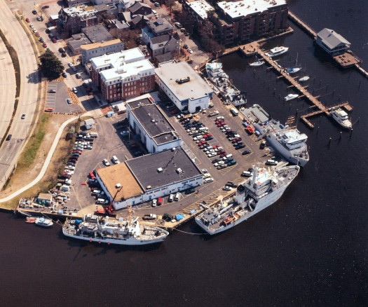 The NOAA Maine Operations Center - Atlantic, where I did my undergraduate internship for two summers, and where I'm heading to join the Thomas Jefferson! (Photo from NOAA)