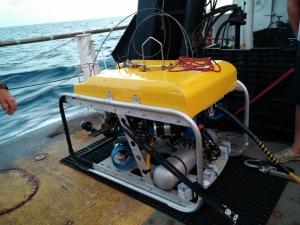 ROV on deck