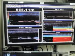 Single beam display in acoustics lab