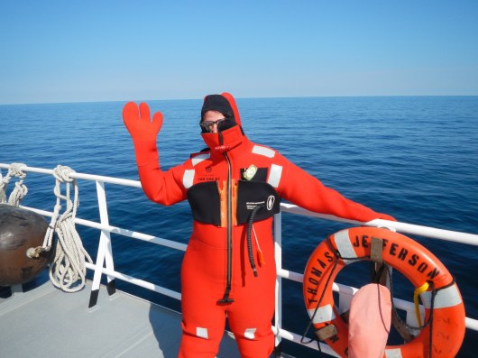 Thank you, NOAA Teacher at Sea program! (yes, that is me in there!)