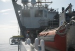 crane lifting ROV