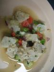 Lion Fish Ceviche